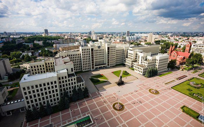 Дом правительства Республики Беларусь в Минске