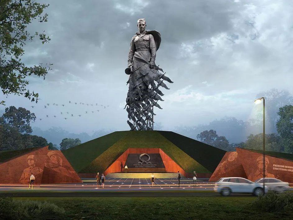 Мемориал советскому солдату в г. Ржев (Россия)